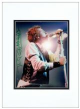 Johnny Rotten Autograph Signed Photo - Sex Pistols